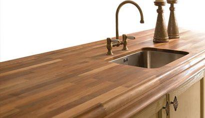 Zelf aanrechtblad maken van hout