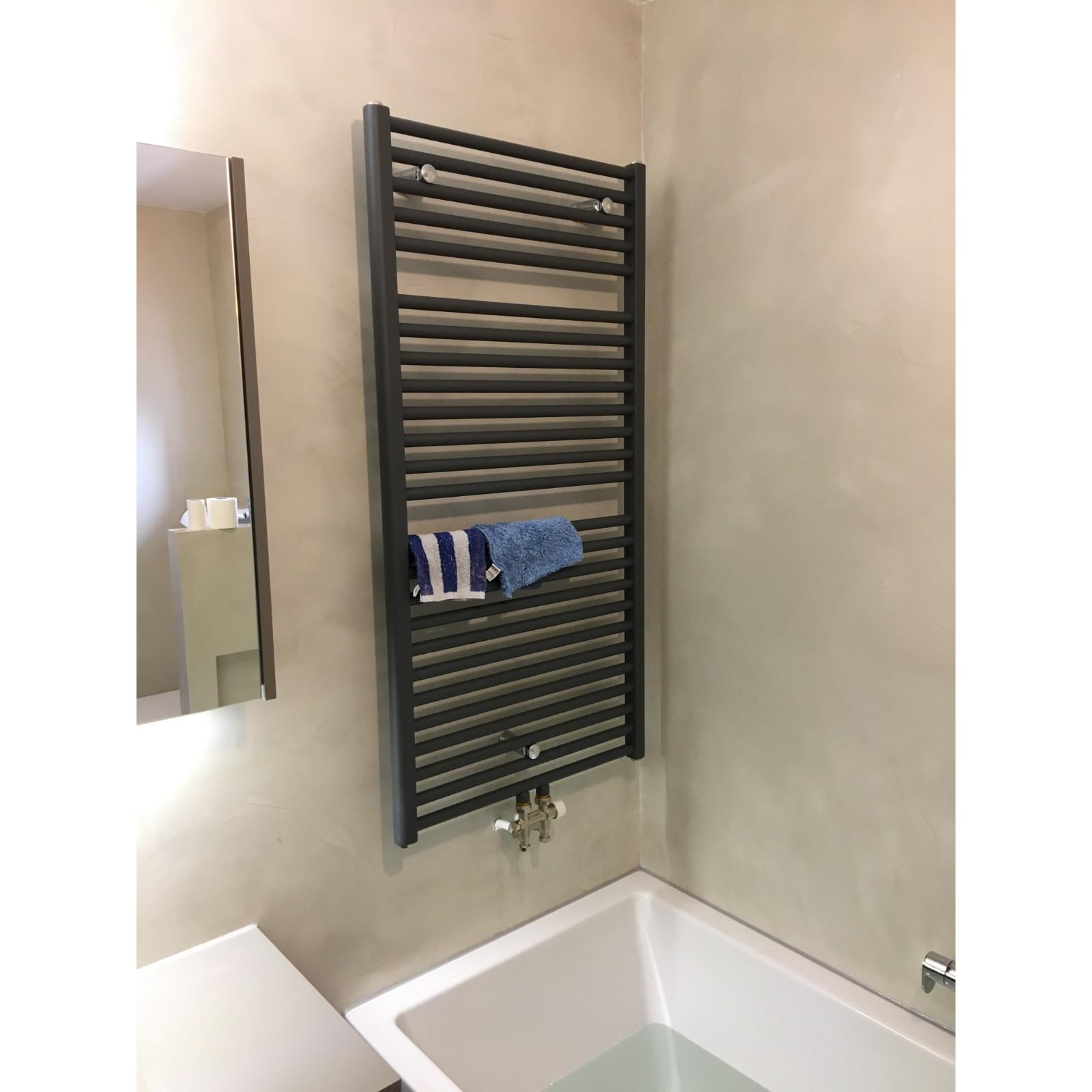 badkamer verwerkt met beton cire amsterdam noord tuijps. Black Bedroom Furniture Sets. Home Design Ideas