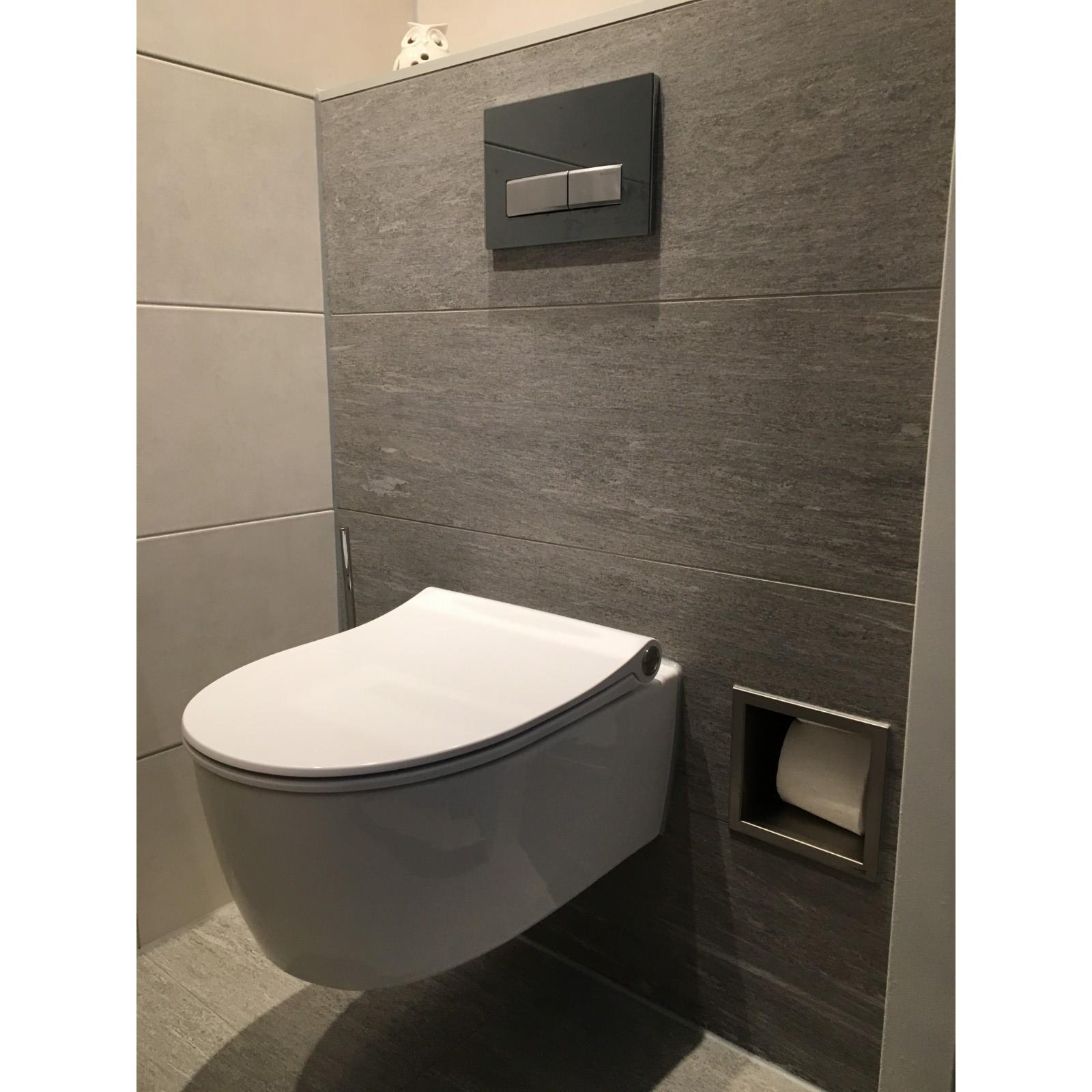 Hedendaags Toilet gerenoveerd naar moderne toilet Amsterdam Zuidoost | Tuijps EB-08