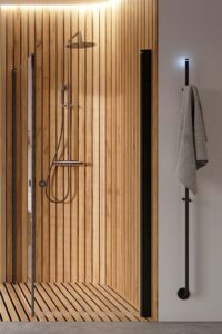 douchehoek, thermostaat, regebare vloerverwarming, elektrische verwarming regelbaar,instamat elektrische radiator, amstedam tuijpshuysch, badkamer, keuken, woonkamer, energiezuinig, keuken